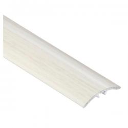 CEZAR prechodová lišta 30mm Dub biely 13 narážacia