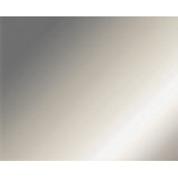 Prechodová lišta samolepiaca strieborná matná - 32x5