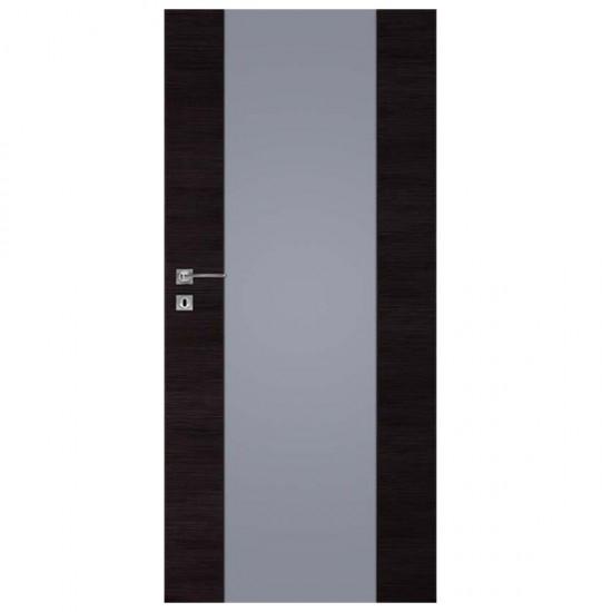 Interiérové Dvere DRE -Vetro A1 Decormat Grafit