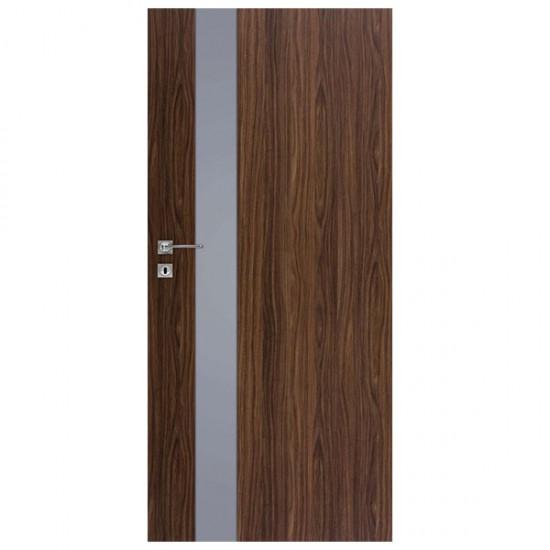 Interiérové Dvere DRE - Vetro D1 Decormat Grafit