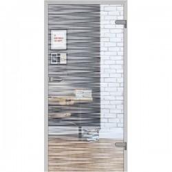 Sklenené Interiérové Dvere DRE - Galla 10 Číre Sklo
