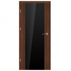 Interiérové Dvere ERKADO - Fragi 16 VSG/ESG Čierne