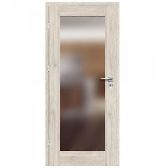 Interiérové Dvere ERKADO - Frezja 7 So zrkadlom