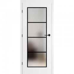 Lakované Biele Interiérové Dvere ERKADO - Miskant 6