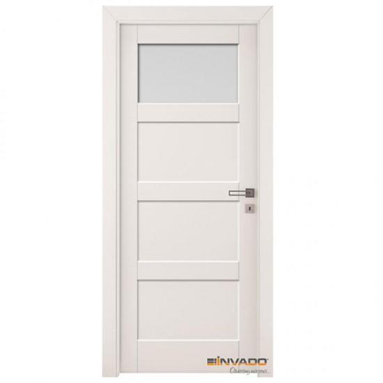 Biele Interiérové Dvere INVADO - Bianco FIORI 2