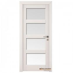 Biele Interiérové Dvere INVADO - Bianco FIORI 3