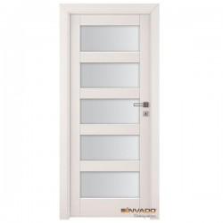 Biele Interiérové Dvere INVADO - Bianco NUBE 3