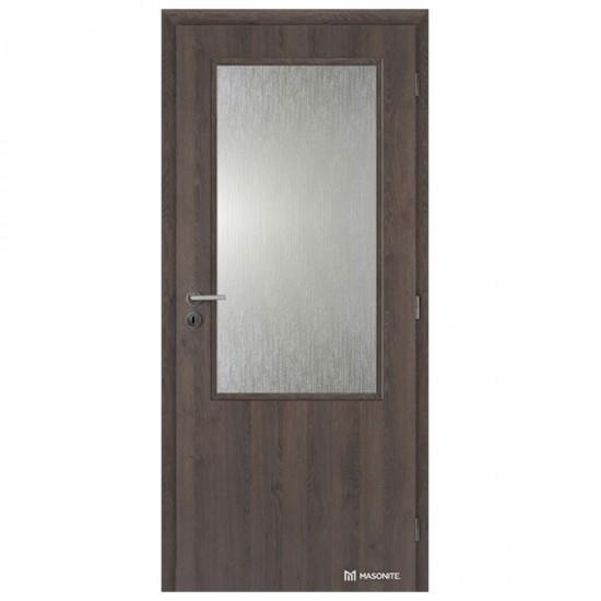 Hladké Interiérové Dvere MASONITE - 2/3 Sklo