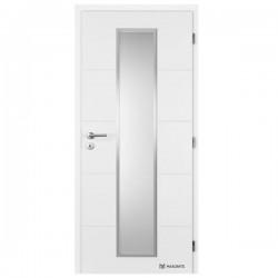 Maľované Interiérové Dvere MASONITE - Quatro Linea Alu