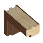 Bloková zárubňa  - OB3 - ENDURO/3D/PLUS  + 77,71€