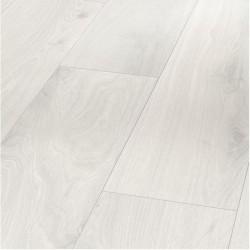 Parador Basic 400 Dub krištáľovo biely 1474400 8 mm AC4/32 M4V Štruktúra dreva 1-lamela