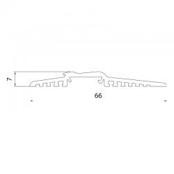 CO - 1380 Prechodový hliníkový prah