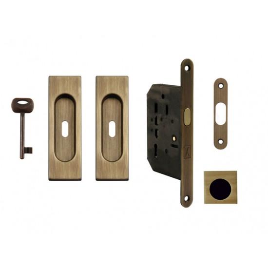 FT - Set na posuvné dvere - BB/S - HR OGS - Bronz česaný matný lak