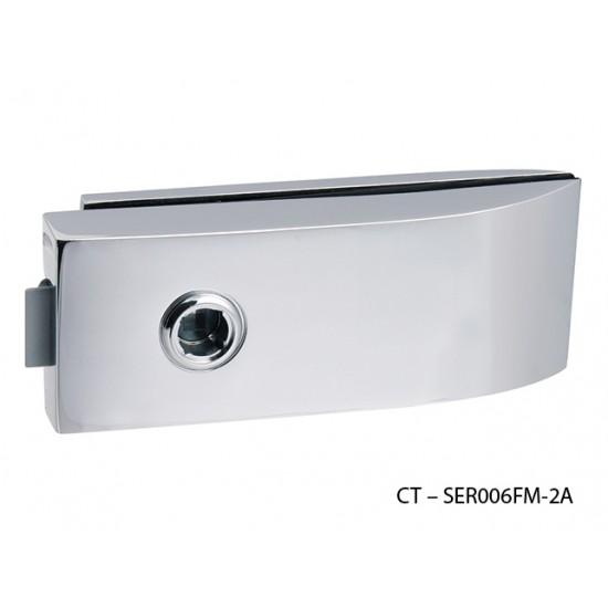 CT - 11000 Kovanie na sklenené dvere OC - Chróm lesklý