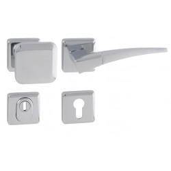 Spevnené kovanie MI - QB SECUR / COMET - HR OC/OC/OCS - Chróm lesklý / chróm lesklý / chróm brúsený