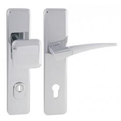 Spevnené kovanie MI - QB SECUR / COMET PLUS OC/OC/OCS - Chróm lesklý / chróm lesklý / chróm brúsený