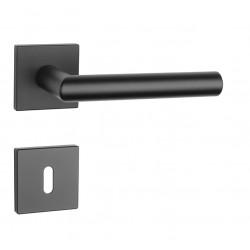 Kľučka na dvere AT - ARABIS - HR 7S BS - Čierna matná