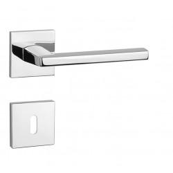 Kľučka na dvere AT - PYROLA - HR 7S OC - Chróm lesklý