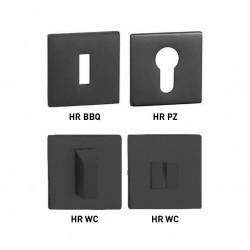 MP - HR SQ6 - Rozeta BS - Čierna matná