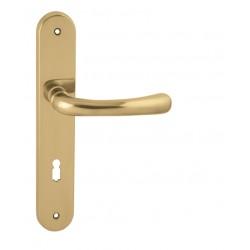 Kľučka na dvere FO - DEA OLV - Mosadz leštená lesklý lak
