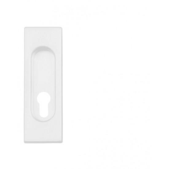 FT - Mušľa hranatá PZ/D - 3663AZ WS - Biela matná
