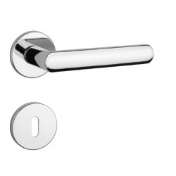Kľučka na dvere AT - FRAGOLA - R 7S OC - Chróm lesklý
