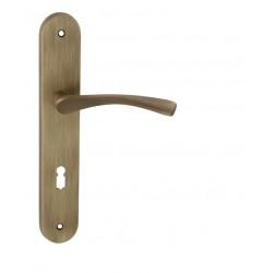 Kľučka na dvere FO - FAN OGS - Bronz česaný matný lak