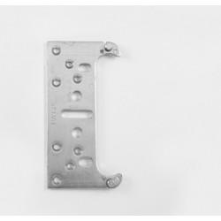 KZ - Nastaviteľná montážna podložka k závesu K5080 BP - Biely pozink