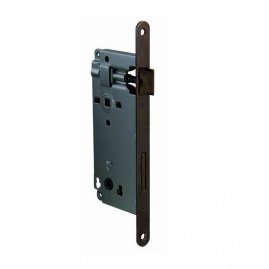 AGB - Zámok na dvere F18 - WC OGS - Bronz česaný matný lak