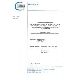 Bezpečnostné kovanie AXA - PRESTIGE F8 - Čierny elox