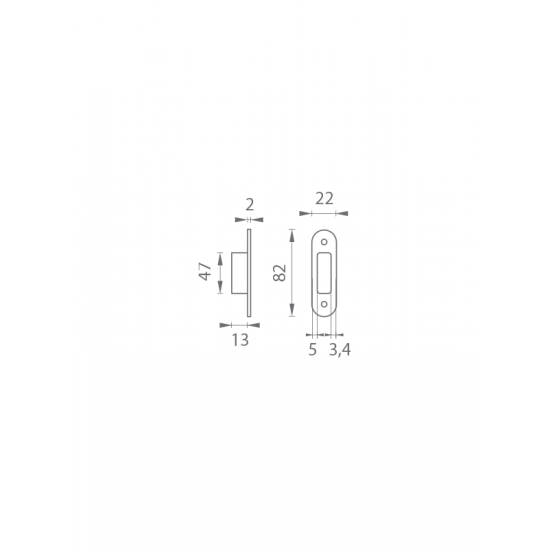AGB - Protiplech k MEDIANA EVOLUTION nastaviteľný s plastovou vaničkou N - Niklový komaxit