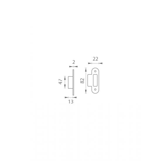 AGB - Protiplech k MEDIANA EVOLUTION s nábehom s plastovou vaničkou B - Bronz česaný matný lak