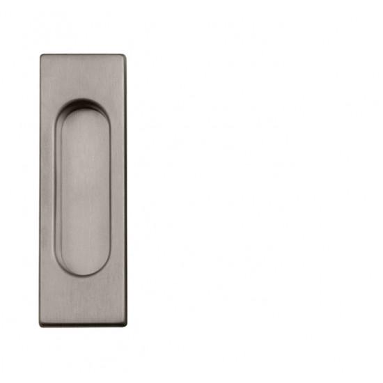 FT - Mušľa hranatá bez otvoru - 3663AC ONSM - Nikel brúsený matný lak