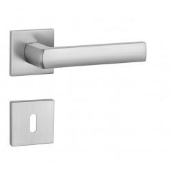 Kľučka na dvere AT - HOSTA - HR 7S OCS - Chróm brúsený