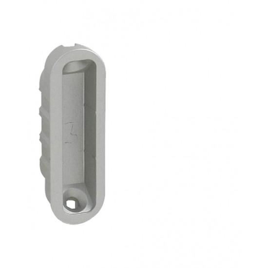 AGB - Protiplech k magnetickému zámku MEDIANA POLARIS plastový nastaviteľný s vaničkou VC - Velvet chróm