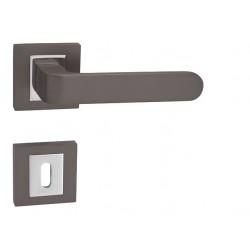 Kľučka na dvere MP - BISKIT HR T/OC - Titán / chróm lesklý
