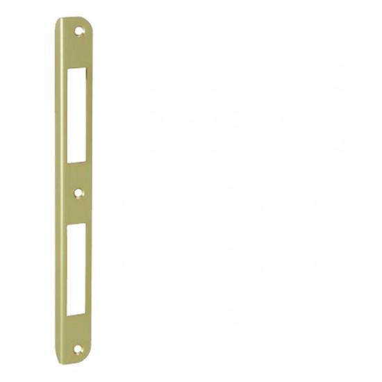 AGB - Protiplech F18  L/2xR OLV - Mosadz leštená lesklý lak