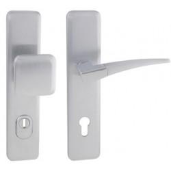 Spevnené kovanie MI - QB SECUR / COMET PLUS OCS/OC/OCS - Chróm brúsený / chróm lesklý / chróm brúsený