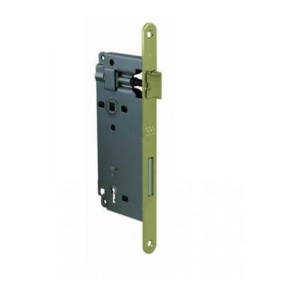 AGB - Zámok na dvere F18 - BB OLV - Mosadz leštená lesklý lak