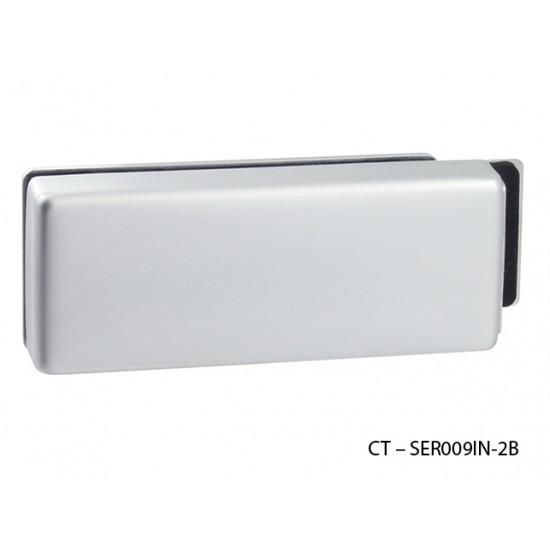 CT - 18000 Kovanie na sklenené dvere OCS - Chróm brúsený