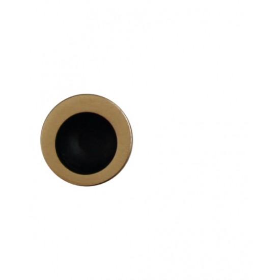 FT - Madielko do čela posuvných dverí oválne MT - R OGS - Bronz česaný matný lak
