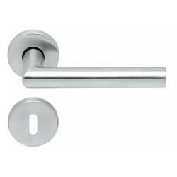 Kľučka na dvere SP - FAVORIT - R PB1106 BN - Brúsená nerez