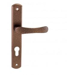 Kľučka na dvere KE - MICHAELA - UOS AH - Antik hnedá