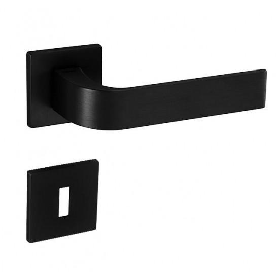 Kľučka na dvere TI - CINTO - HR 2732 5S BS - Čierna matná