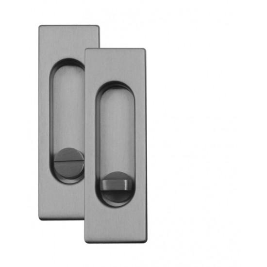FT - Mušľa hranatá WC - 3663AR BN - Brúsená nerez