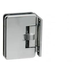CT - CER401S - 2A Automatický pružinový pánt na sklenené tabule (sklo - stena) OC - Chróm lesklý
