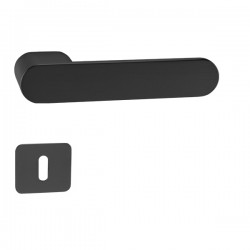Kľučka na dvere GK - AVUS ONE BM - Čierna matná