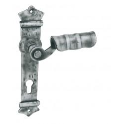 Kľučka na dvere LR - URBAN Kovaná sivá
