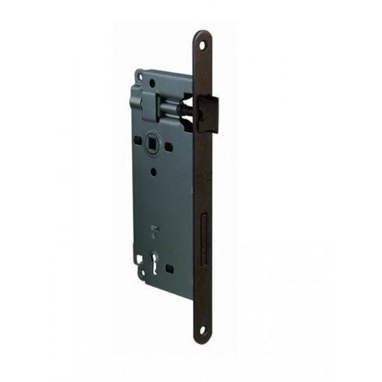 AGB - Zámok na dvere F18 - BB OGS - Bronz česaný matný lak