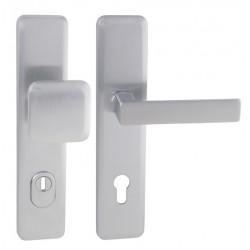 Spevnené kovanie MI - QB SECUR / CLOUD PLUS OCS - Chróm brúsený